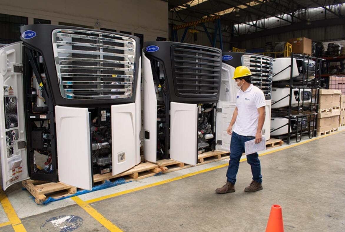 Carrier Transicold especialistas en equipo y Transporte Refrigerado